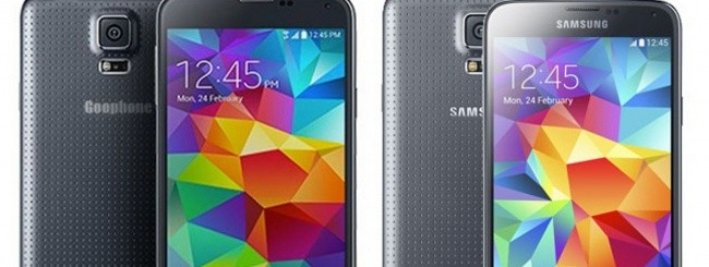 GooPhone S5 e Samsung Galaxy S5