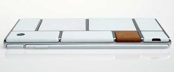 La parte posteriore di uno smartphone Project Ara