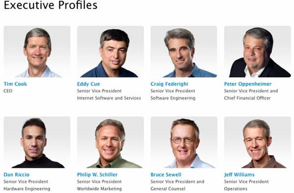 Dirigenza Apple