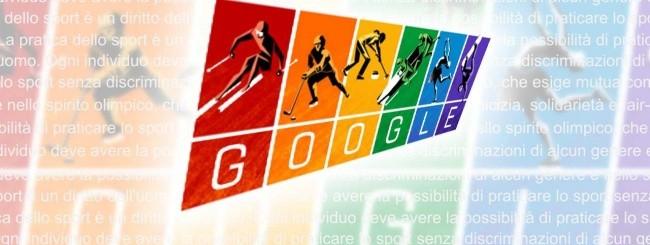 Google Doodle per le Olimpiadi invernali di Sochi 2014