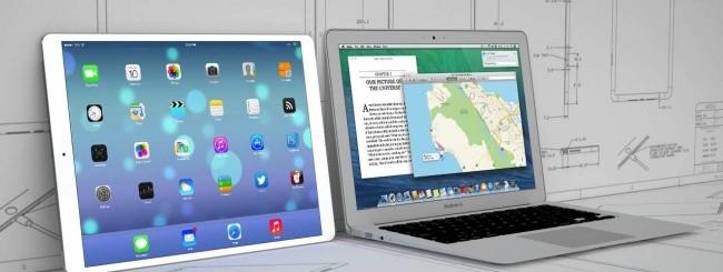 iPad Maxi, mockup