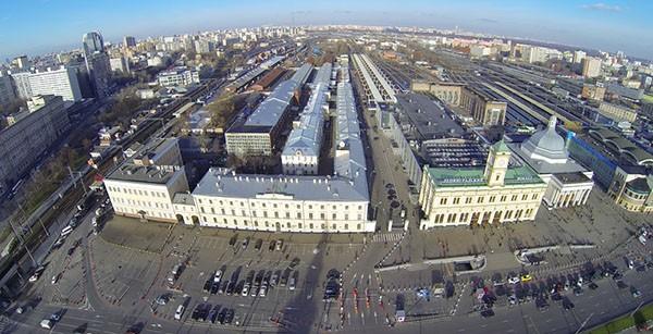 Mosca vista da un drone