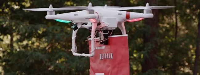 Netflix Drone 2 Home