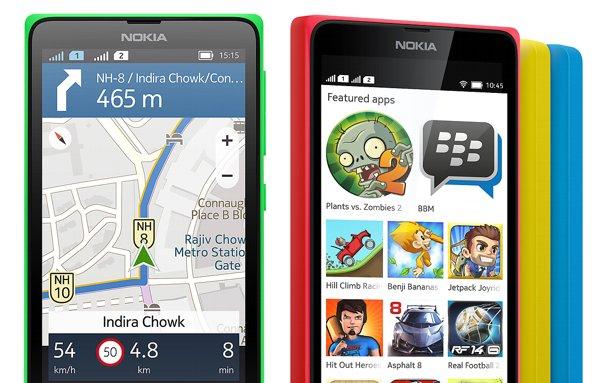 Applicazioni Nokia X