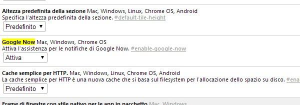 L'assistente virtuale Google Now fa il suo debutto ufficiale nel dev channel del browser Chrome