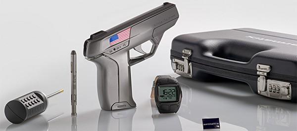 La pistola di Armatix con tecnologia Smart System, nella versione Limited Edition