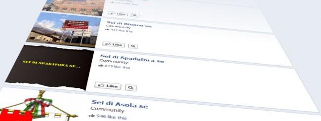 Sei di... se, su Facebook