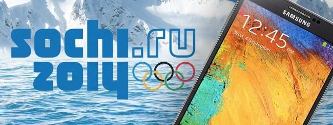 Samsung e Olimpiadi di Sochi