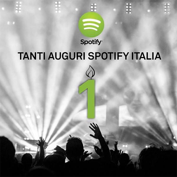 12/02/2013-12/02/2014: Spotify Italia compie oggi un anno