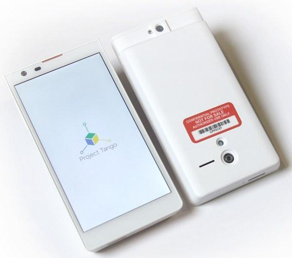 Smartphone per il Project Tango