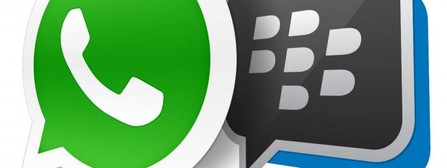 WhatsApp e BBM