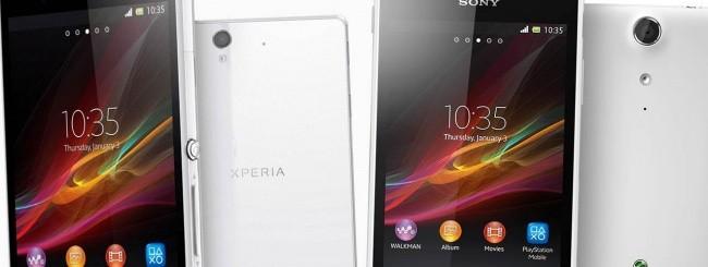 Sony Xperia Z e Sony Xperia TX