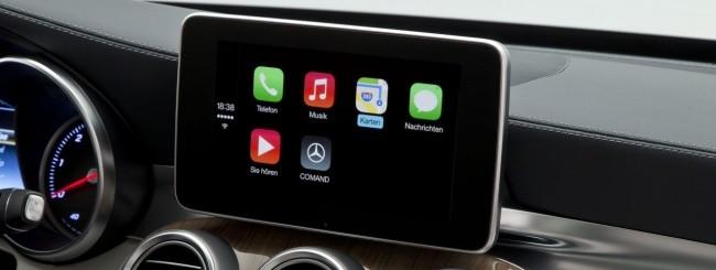 Apple CarPlay - Mercedes Classe C