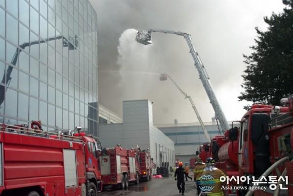 Incendio in una fabbrica sudcoreana per i PCB del Galaxy S5