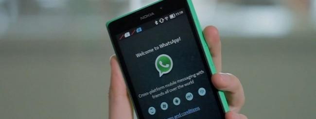 WhatsApp per Nokia X