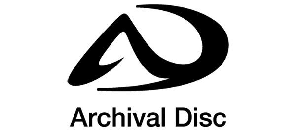 Il logo ufficiale disegnato da Sony per i supporti ottici Archival Disc