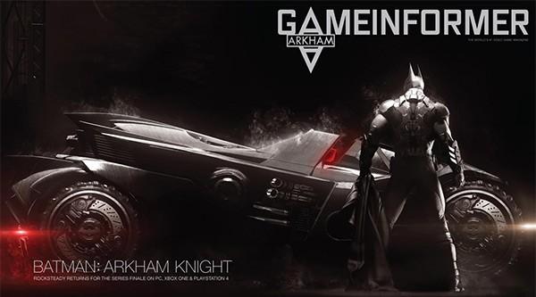 Uno dei primi artword pubblicati per Batman: Arkham Knight