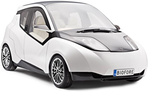 La concept car Biofore di UPM, in mostra al Salone dell'auto di Ginevra 2014