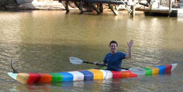 La prima canoa al mondo stampata in 3D