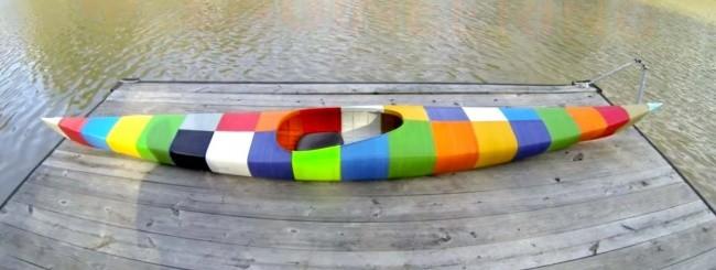 Canoa stampata in 3D