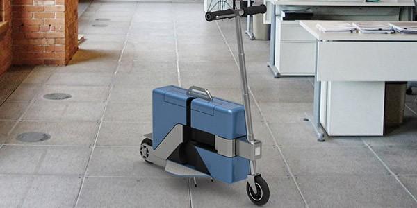 Commute-Case, lo scooter elettrico che si chiude e diventa una valigia