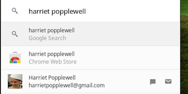 Grazie all'ultimo aggiornamento, è possibile trovare i contatti Google su Chrome OS nello stesso modo in cui si cercano file e applicazioni