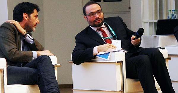 Da sinistra: Riccardo Donadon, presidente di Italia Startup, e Stefano Firpo, segreteria tecnica del MISE. In Regione Lombardia  hanno discusso della fase 2 dell'ecosistema startup italiano.