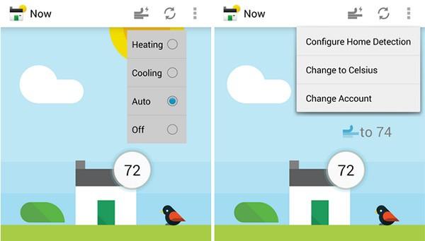 Screenshot per l'applicazione EnergySense di Google