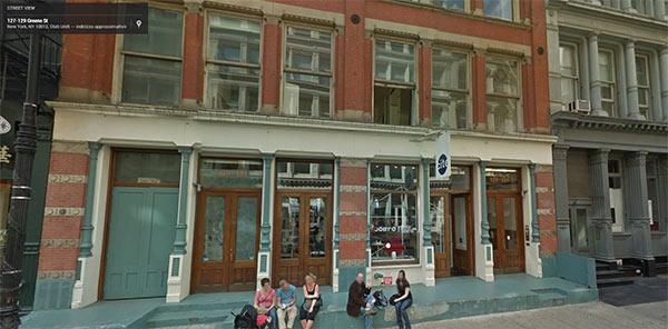 La possibile location del primo Google Store a Manhattan, nel quartiere SoHo