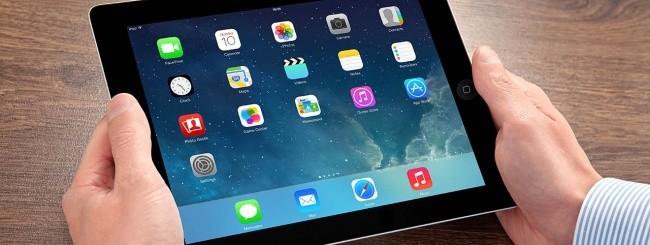 iPad nelle mani di un utente