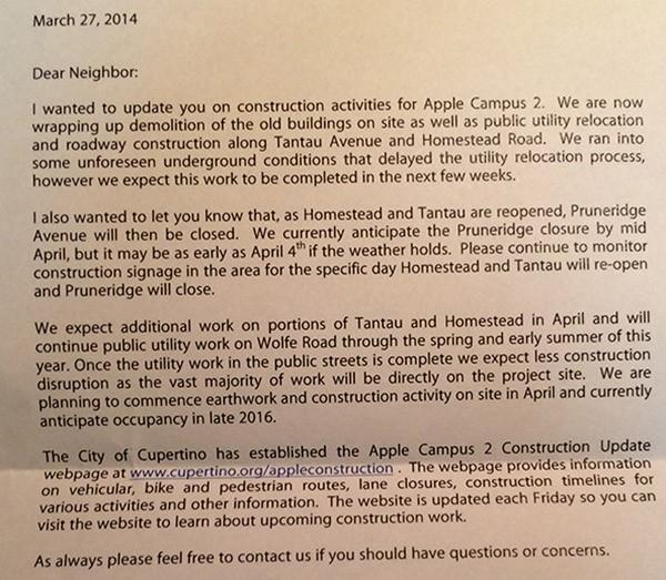 Lettera di Apple