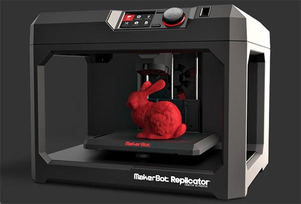 Replicator, una delle stampanti 3D proposte da MakerBot