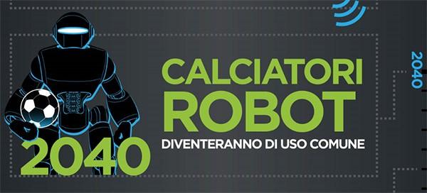 Nel 2060 il calcio sarà giocato da robot schierati in campo