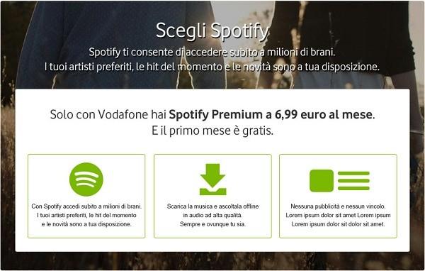 Scegli Spotify
