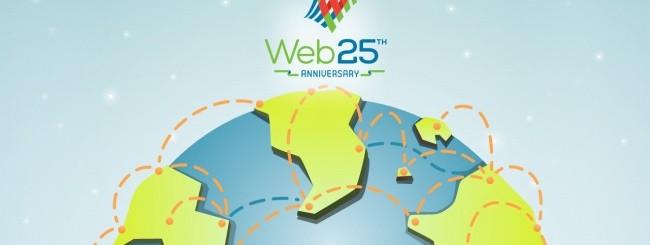 Il Web compie 25 anni