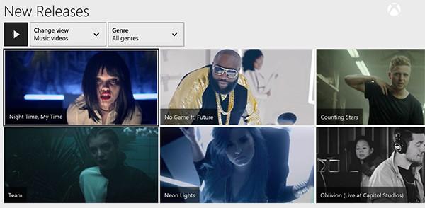 La piattaforma Xbox Music si arricchisce di oltre 92.000 video musicali, da guardare attraverso la console next-gen Xbox One