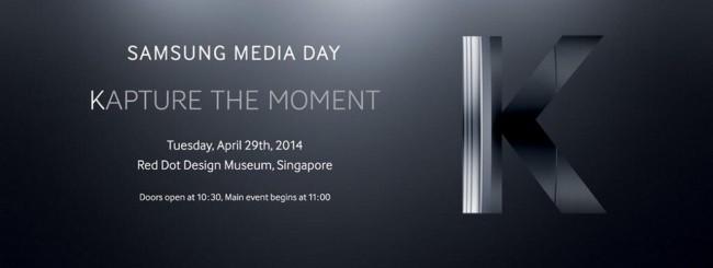Evento Samsung Kapture the moment