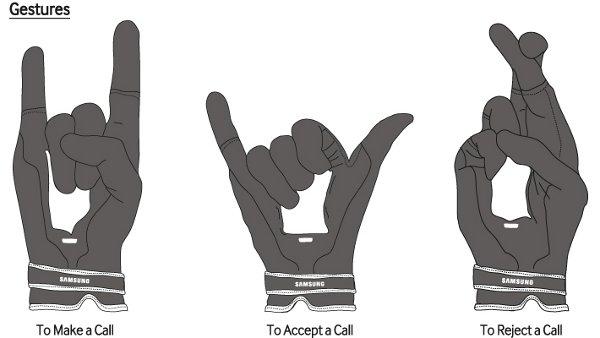 Gesture con Samsung Fingers per il pesce d'aprile 2014 della casa sudcoreana