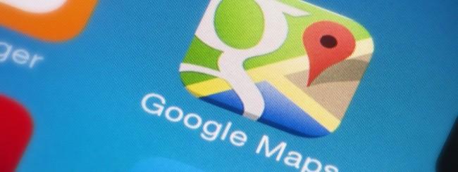 Google Maps su smartphone