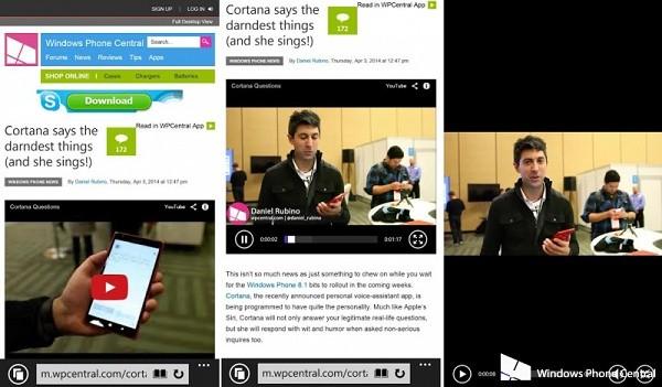 YouTube in Windows Phone 8.1
