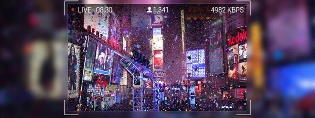 Livestream sui Google Glass