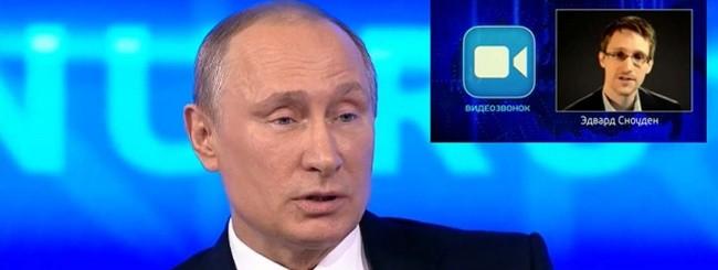 Putin - Snowden