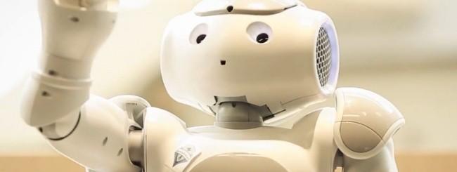 Robot receptionist Microsoft