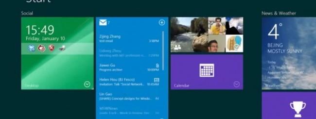 Windows 8.1 - live tile interattive
