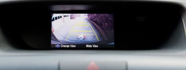 Videocamera posteriore