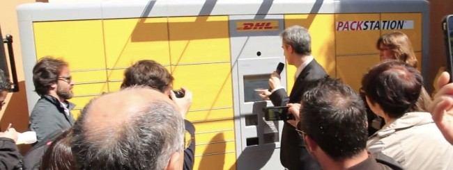 Packstation DHL Express