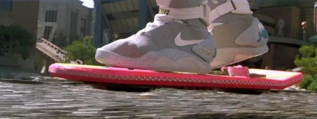 Hoverboard, da Ritorno al Futuro