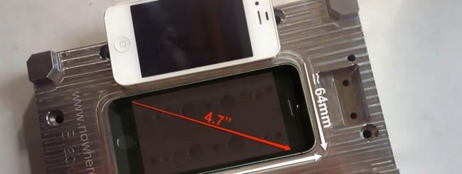 iPhone 6, gli stampi