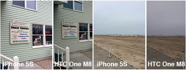 iPhone 5S VS HTC One M8