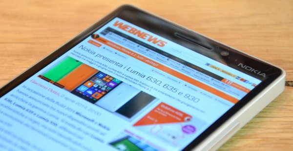 Webnews su Nokia Lumia 930